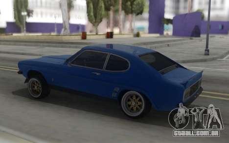 Ford Capri RS3100 para GTA San Andreas