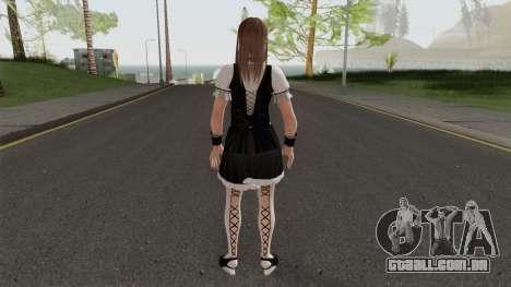 Hot Hitomi Maid para GTA San Andreas