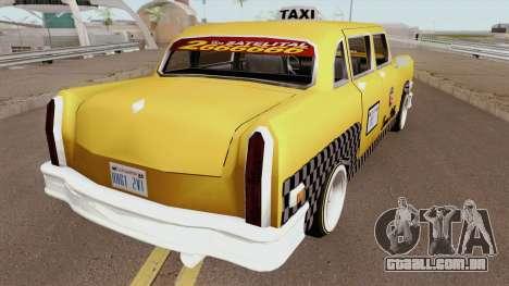 Cabbie Remasterizado para GTA San Andreas