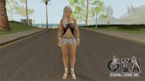 Lisa Hamilton Tanned para GTA San Andreas