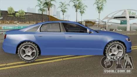 Audi A6 LQ para GTA San Andreas