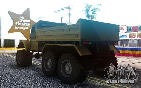 GAZ 69 6x6 para GTA San Andreas