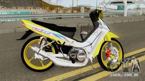 Yamaha F1ZR LE para GTA San Andreas