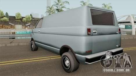 Declasse Burrito Civilian (1st Generation) GTA V para GTA San Andreas