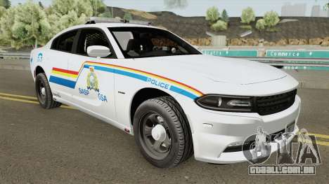 Dodge Charger 2015 SASP RCMP para GTA San Andreas