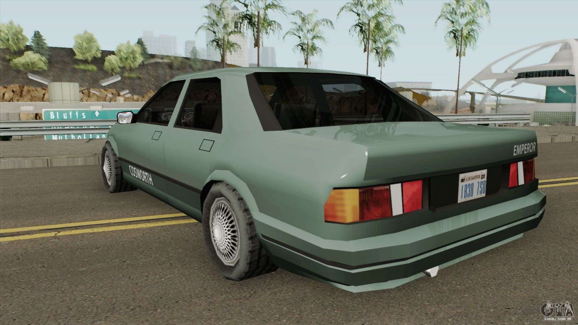 Ford Sierra Low-Poly para GTA San Andreas