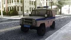 UAZ 31512 Polícia para GTA San Andreas