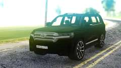 Toyota Land Cruiser Black para GTA San Andreas