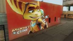 Ratchet And Clank Wall para GTA San Andreas