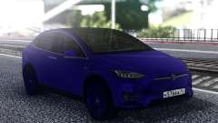 Tesla Model X Blue para GTA San Andreas