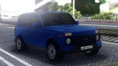 Niva Urban Blue para GTA San Andreas