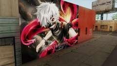 Tokyo Ghoul Kaneki Ken Wall para GTA San Andreas