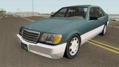 Mercedes-Benz S-Class (W140) 300SD 1992 US-Spec para GTA San Andreas