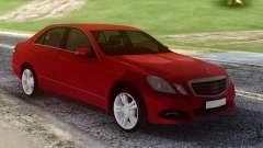 Mercedes-Benz E500 W212 Red para GTA San Andreas