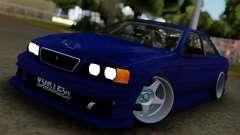Toyota Chaser Blue para GTA San Andreas