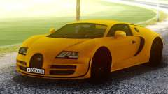 Bugatti Veyron Yellow para GTA San Andreas