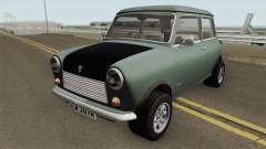 British Leyland Mini 1000 1977 Black Bonnet para GTA San Andreas