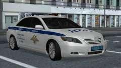 Toyota Camry 2007 MS DPS de polícia de trânsito para GTA San Andreas
