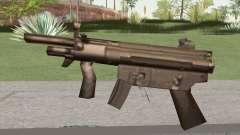 MP5 From GTA Vice City LQ para GTA San Andreas
