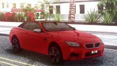 BMW M6 F12 Cabrio para GTA San Andreas