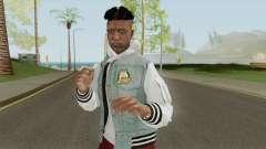 Skin Random 124 (Outfit XXXTenatcion) para GTA San Andreas