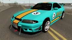 Nissan Skyline GT-R R33 1996 para GTA San Andreas
