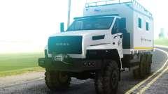 Ural PRÓXIMA 4320-6952-72Е5Г38 004 unidade Residencial para GTA San Andreas