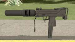 MAC-10 Suppressed HQ para GTA San Andreas