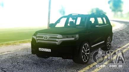 Toyota Land Cruiser Black para GTA San Andreas