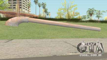 Iron Rust Water Pipe para GTA San Andreas
