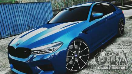 BMW M5 F90 para GTA 4