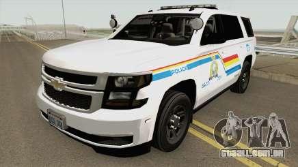 Chevrolet Tahoe SASP RCMP para GTA San Andreas