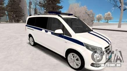 Mercedes-Benz Vito Polícia para GTA San Andreas