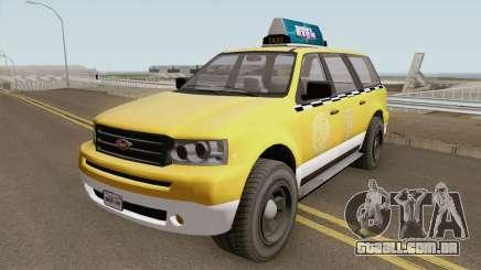 Vapid Prospector Taxi V2 GTA V para GTA San Andreas