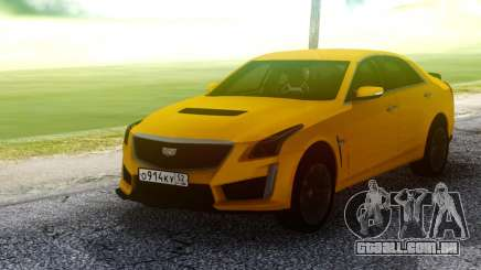 Cadillac CTS-V Orange para GTA San Andreas