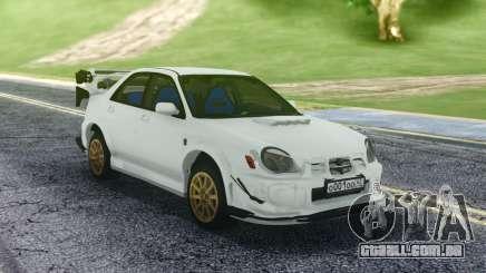 Subaru WRX STI Sedan para GTA San Andreas