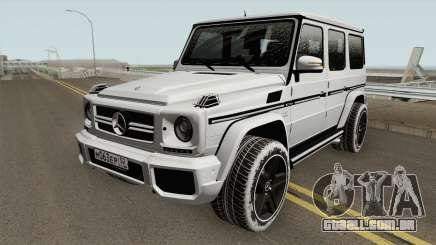 Mercedes-Benz G65 AMG High Quality para GTA San Andreas