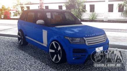 Range Rover Vogue L405 Startech Blue para GTA San Andreas