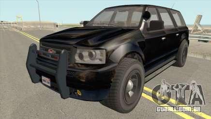 Vapid Prospector FBI V2 GTA V IVF para GTA San Andreas