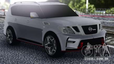 Nissan Patrol Nismo White para GTA San Andreas