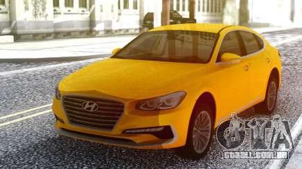 Hyundai Azera 2018 Yellow para GTA San Andreas