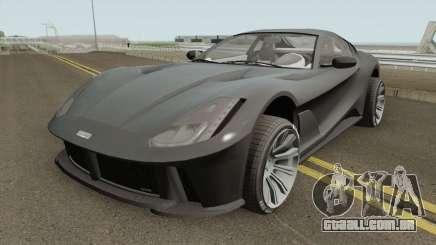 Grotti Itali GTO Stock GTA V IVF para GTA San Andreas