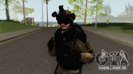 Stormtrooper From Squad Night Tiger (Warface) para GTA San Andreas