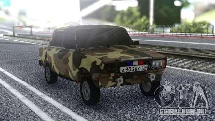 2107 De Verão De Camuflagem para GTA San Andreas