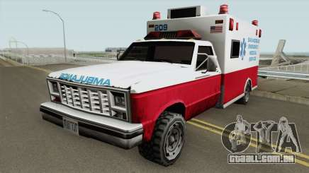 Ambulance From 70s para GTA San Andreas