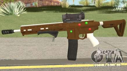 GTA Online: Carbine Rifle Mk.II Fruitcake para GTA San Andreas