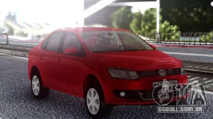 Volkswagen Polo Red para GTA San Andreas