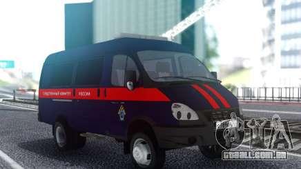 Gazela 33023 Comitê de Investigação da rússia para GTA San Andreas