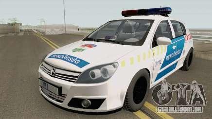 Opel Astra H Magyar Rendorseg para GTA San Andreas