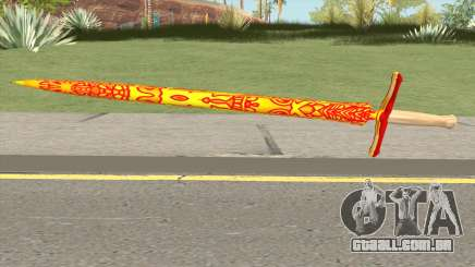 Dragon Sword para GTA San Andreas